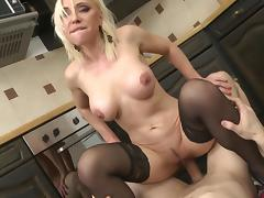 fucked by plumber in the kitchen porn tube video