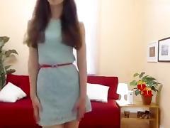 Brunette, Amateur, Brunette, Solo, Webcam, French Teen