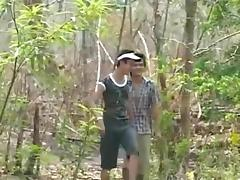 fuck in the forest porn tube video