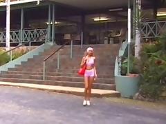 Hitch Hiker, Blonde, Brunette, Hardcore, Lesbian, Outdoor