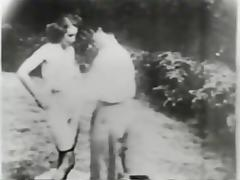 newly weds - circa 1940 tube porn video