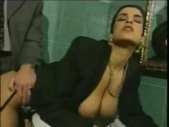 Italian Big Tits, Adultery, Bath, Bathing, Bathroom, Big Tits