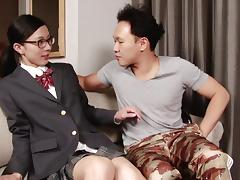 Chuling is the nerdy trannie who loves sex more than anything!