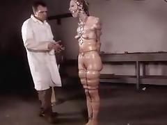 Bound, BDSM, Bound, German, Masturbation, Slave