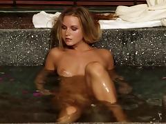 Soaked cunt of a Euro lesbian girl fisted erotically porn tube video
