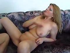 MILF with big natural juggs fucked hard porn tube video