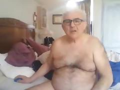 Grandpa show and stroke porn tube video