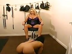 Foot worship porn tube video