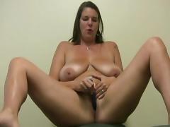 BBW Carrie solo orgasm porn tube video