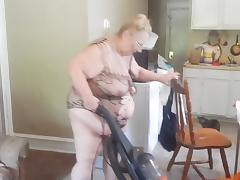 cleaning around the living room porn tube video