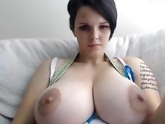 Big Tits, Amateur, Big Tits, Couple, Nipples, Toys