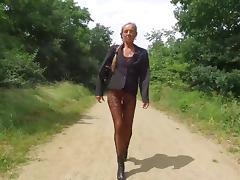 Public, Flashing, German, Outdoor, Public, Sex