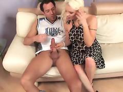 Mom and Boy, Blonde, Cougar, Fucking, Mature, MILF