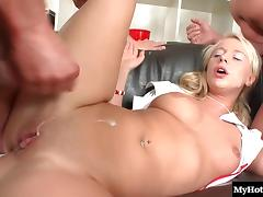 Rachel La Rouge is always getting her holes filled by dudes porn tube video