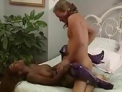 She loves white cock   he loves giving it to her