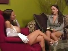 Lesbian Nylon 1 porn tube video