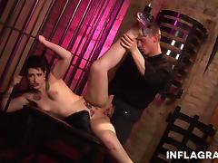 german stripper feels free