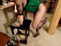 havin fun with femdom role play and getting pegged