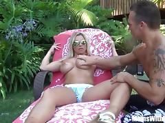 Busty Blonde Mom Devon Lee Outdoor Fucking Fun tube porn video