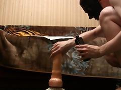Huge toys tested porn tube video