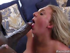 Sexy Brooke is once again ready to ride the chocolate schlong porn tube video