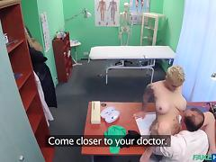 hot pussy rides a fake doctor porn tube video