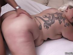 Sexy blonde bbw pick up porn tube video