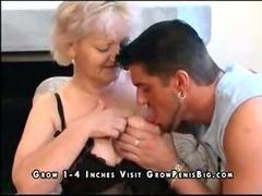 Granny, Aged, Boobs, Bus, Cougar, Granny