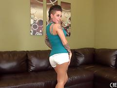 Live cam show where Christy Mack drills her love hole