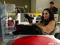 Well fucked milf babe Ava Addams takes a big facial tube porn video