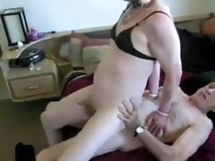 Crossdresser fucked old friend  receiving cum tube porn video