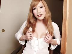 Tranny tits and ass looks great as the babe teases porn tube video