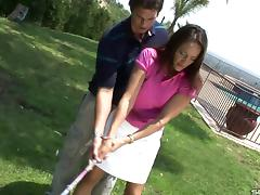MILF wants her golf instructor's cock inside her aching cunt porn tube video