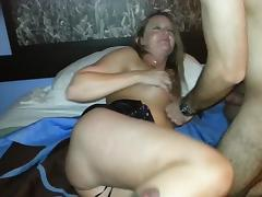 Mature, Big Cock, Blonde, British, Fucking, Mature