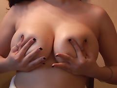 Massaging Big Breasts porn tube video