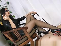 Horny Homemade video with Femdom, Smoking scenes porn tube video
