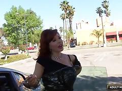 Mature slut with big titties fucked balls deep porn tube video
