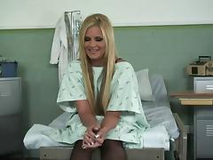 Sexy hospital patient Phoenix Marie fucked in the exam room tube porn video