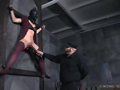 Blindfolded, Babe, BDSM, Blindfolded, Bound, Fucking