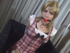 Crossdress Sissy Humiliated tube porn video
