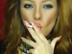Smoking On Cam porn tube video