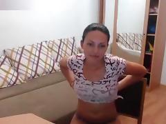Kisska777 undresses on webcam