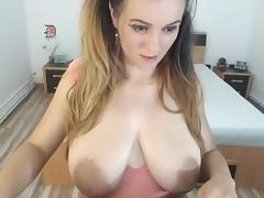 Big Areolas on webcam tube porn video