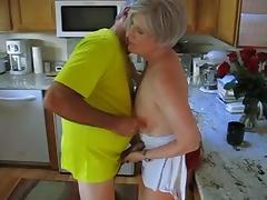 Kitchen, Granny, Kitchen, Mature, Old, Grandma