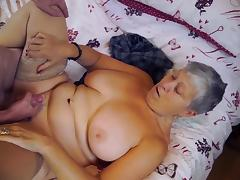 Old lady Savana fucked by student Sam Bourne porn tube video