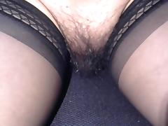 Mexican, Crossdresser, Mexican, Nylon, Pussy, Stockings