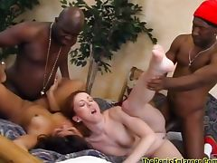 Double date turns into group sex tube porn video