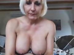Horney Blonde Mom porn tube video
