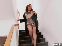 Magnificent doll Helena in an enticing solo masturbation