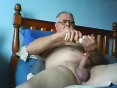 Old Man, Cum, Grandpa, Old Man, Grandfather, Jizz